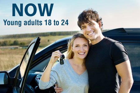 NOW - Young adults 18 to 24