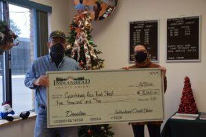 Grantsburg Area Food Shelf Donation